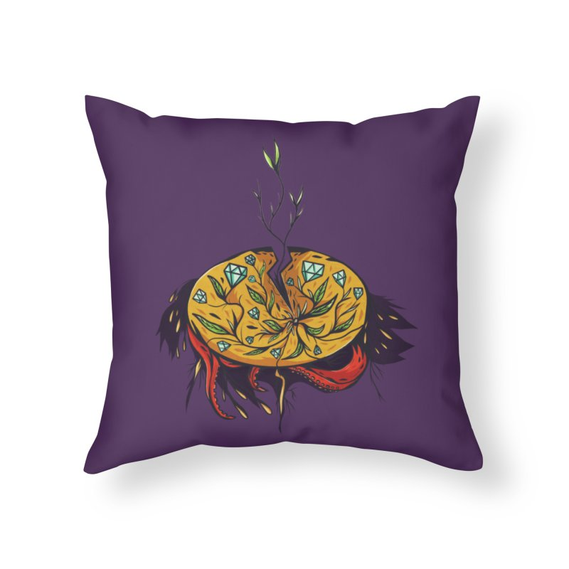 seed. Home Throw Pillow by myagender