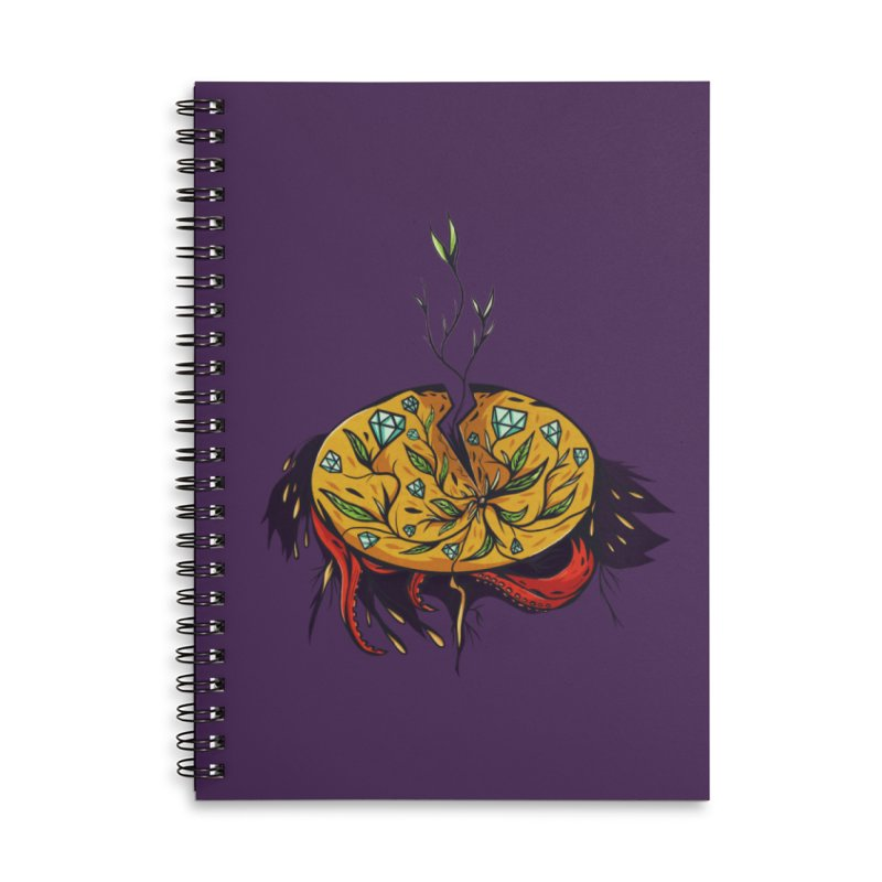 seed. Accessories Lined Spiral Notebook by myagender