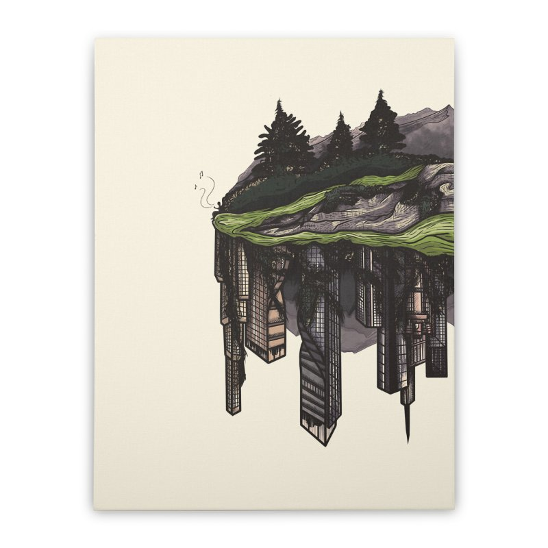 reclamation. Home Stretched Canvas by myagender