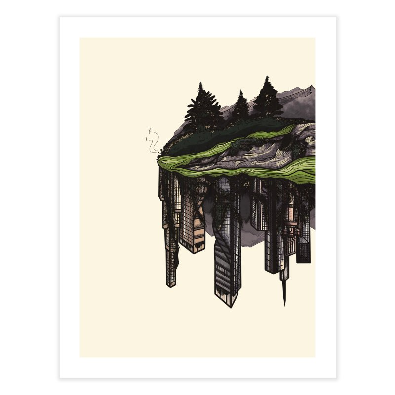 reclamation. Home Fine Art Print by myagender