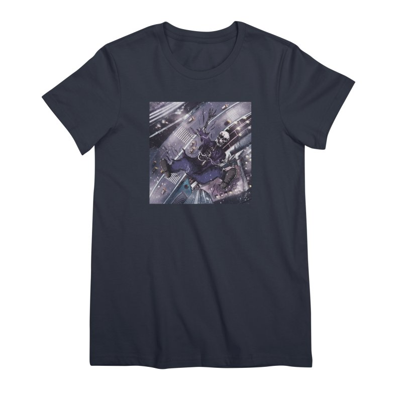 falling. Women's T-Shirt by myagender