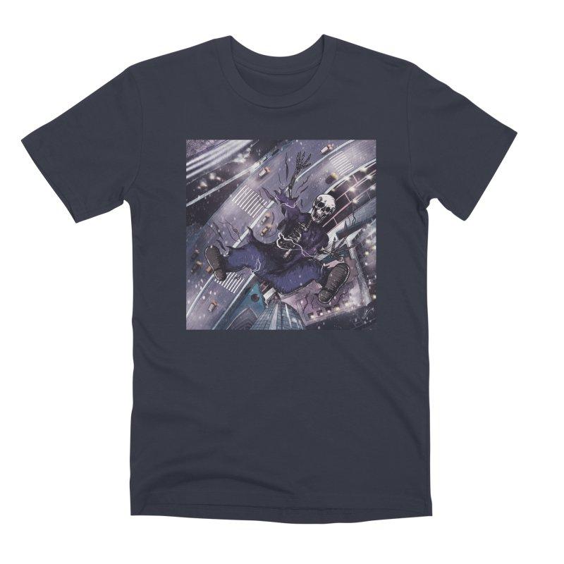 falling. Men's T-Shirt by myagender