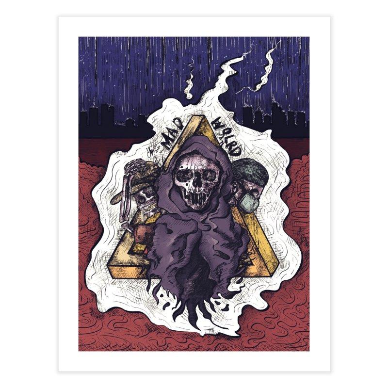 mad world. Home Fine Art Print by myagender