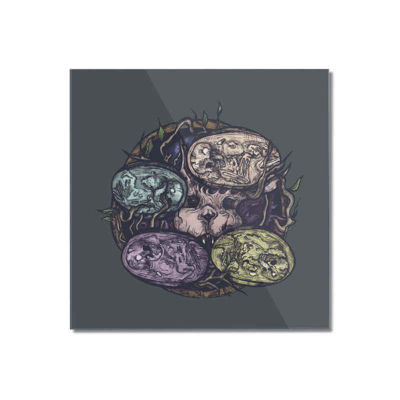 easter. Home Mounted Acrylic Print by myagender