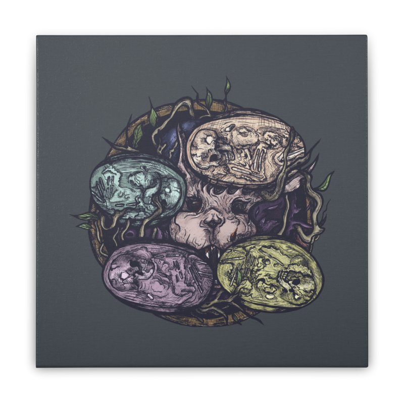 easter. Home Stretched Canvas by myagender