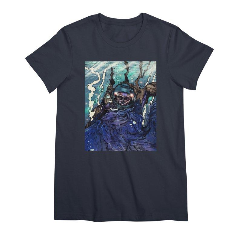 under. Women's T-Shirt by myagender