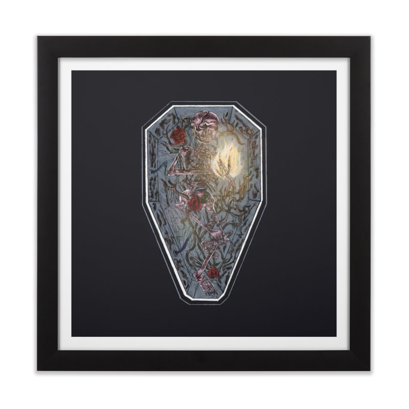 six feet ain't deep enough. Home Framed Fine Art Print by myagender