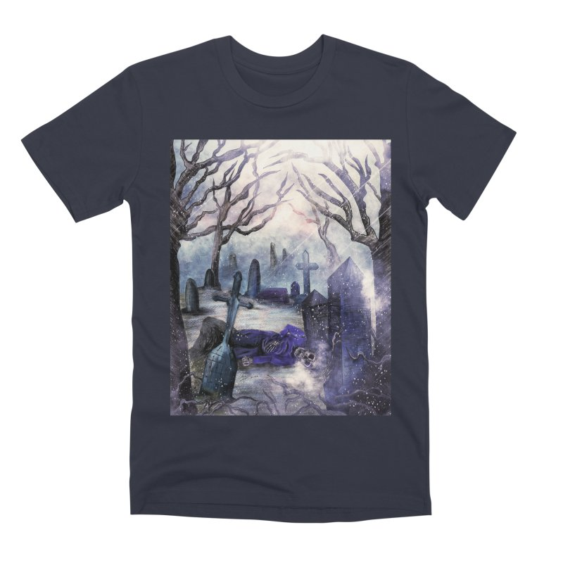 crooked soul. Men's T-Shirt by myagender