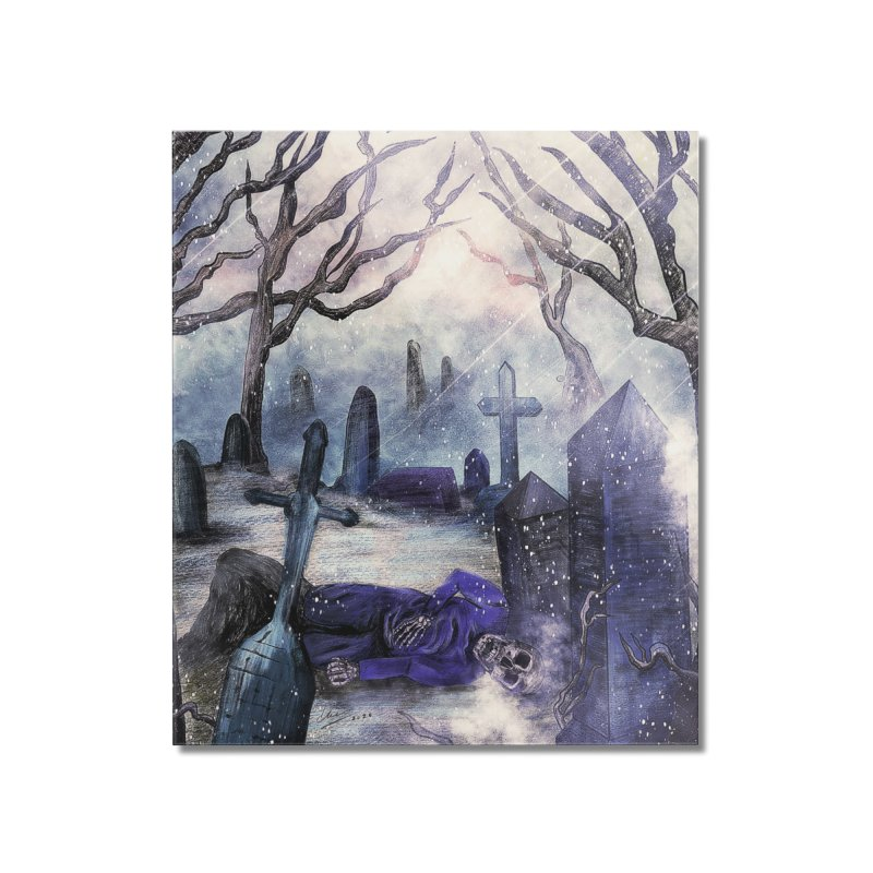 crooked soul. Home Mounted Acrylic Print by myagender