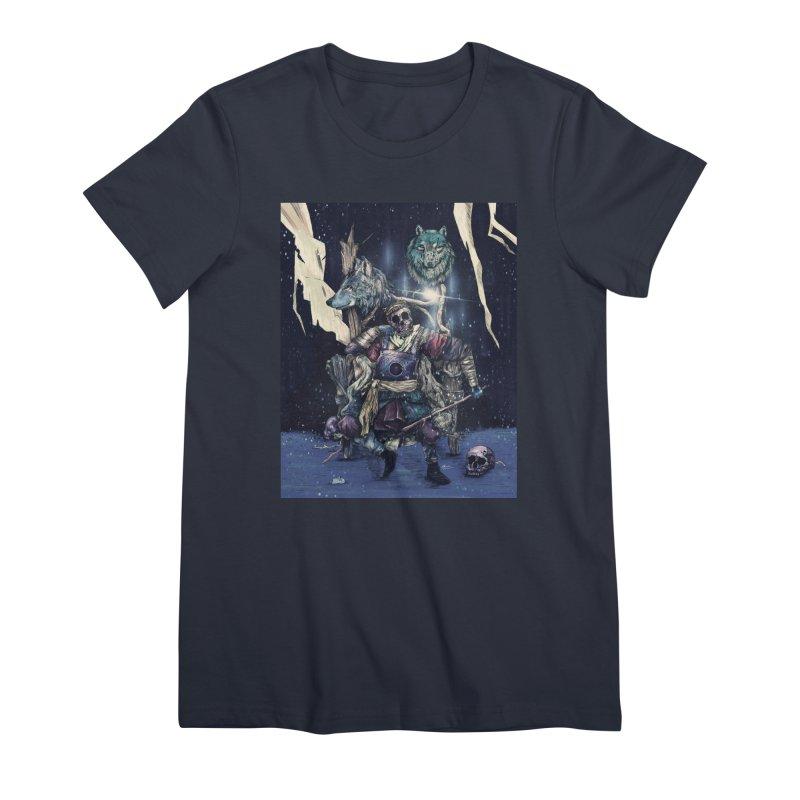 throne. Women's T-Shirt by myagender