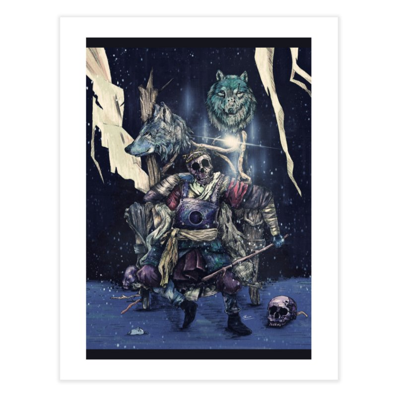 throne. Home Fine Art Print by myagender