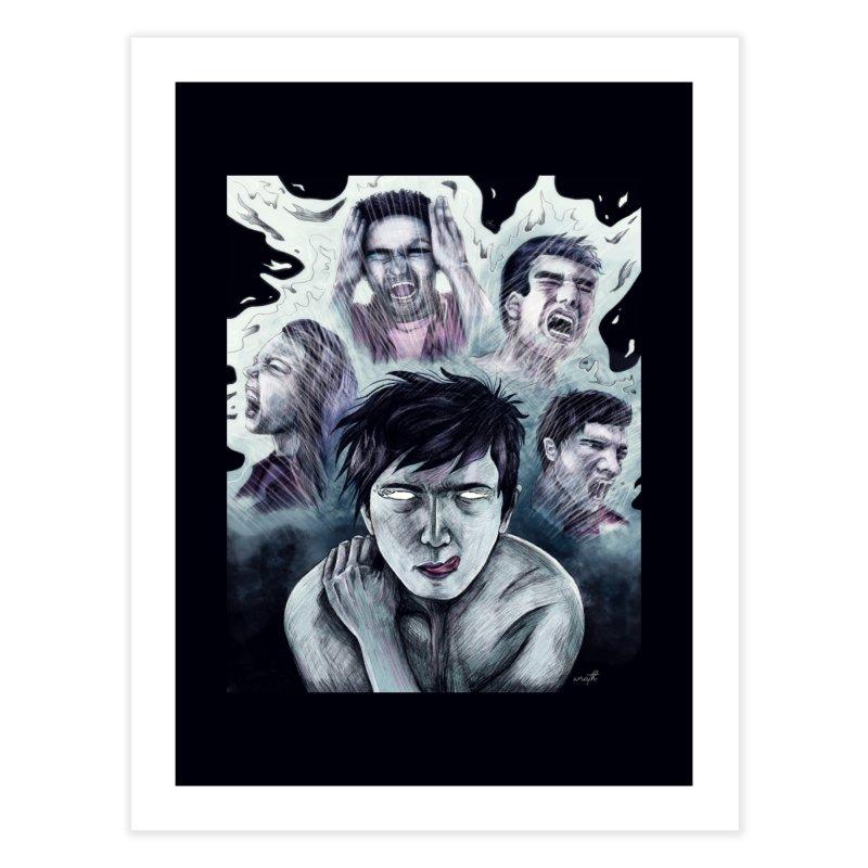 wrath. Home Fine Art Print by myagender