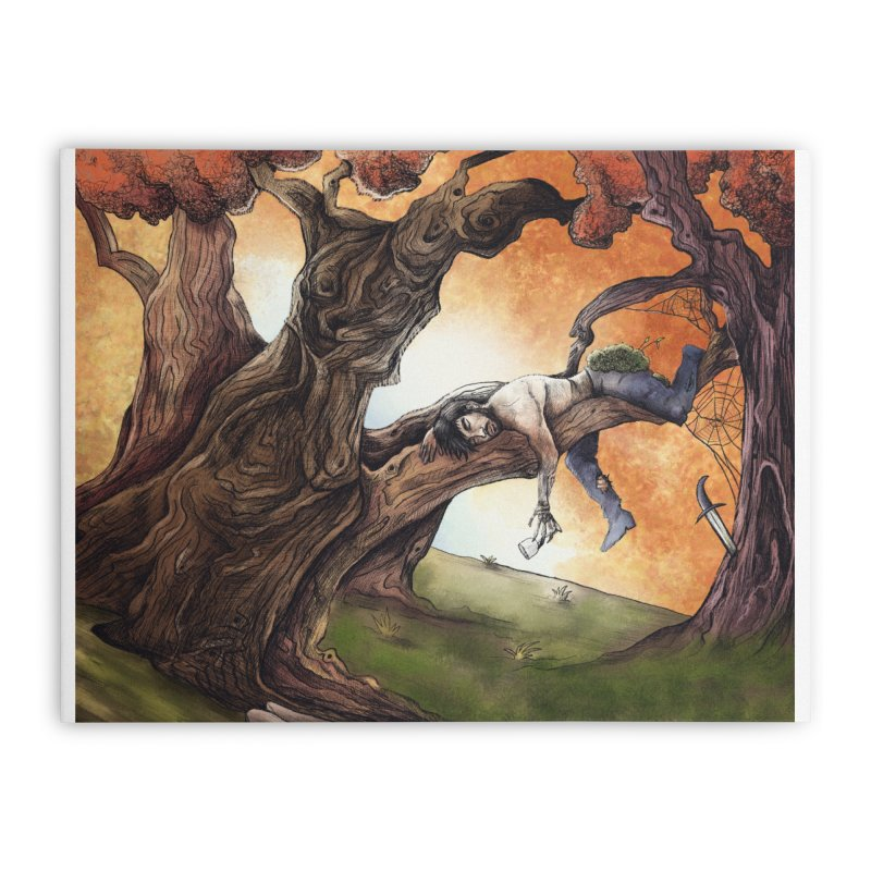 sloth. Home Stretched Canvas by myagender