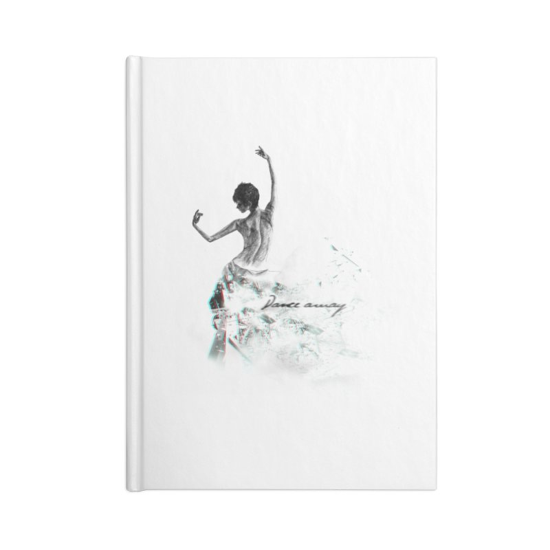 dance away. Accessories Lined Journal Notebook by myagender