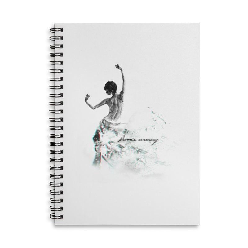 dance away. Accessories Lined Spiral Notebook by myagender