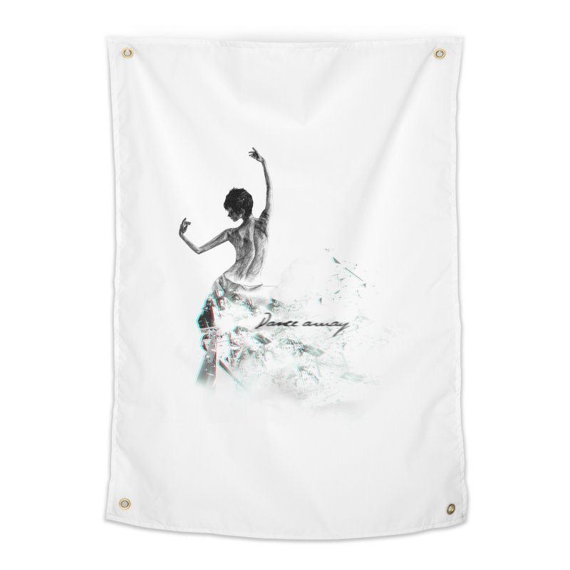 dance away. Home Tapestry by myagender