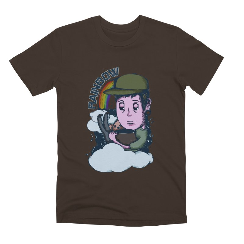 rainbow. Men's Premium T-Shirt by myagender