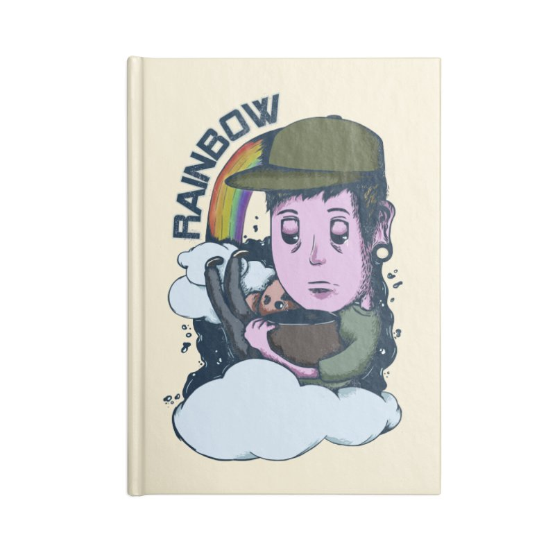 rainbow. Accessories Lined Journal Notebook by myagender