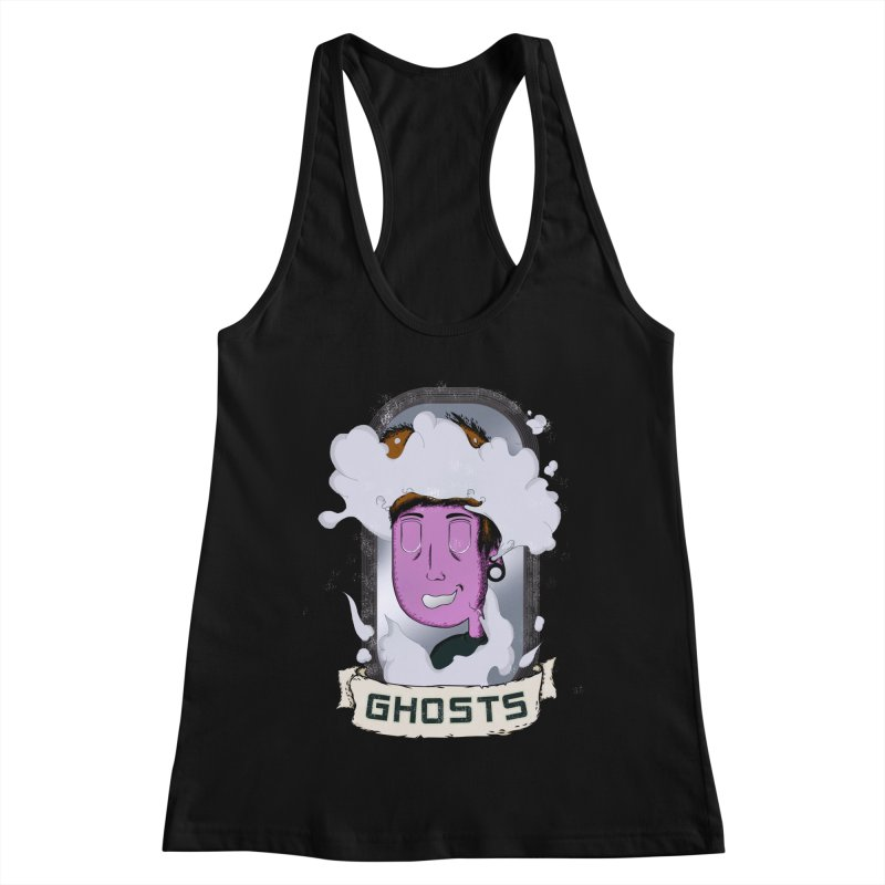 ghosts. Women's Racerback Tank by myagender