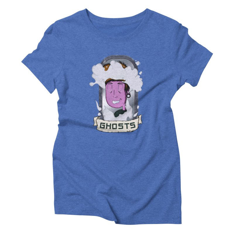 ghosts. Women's Triblend T-Shirt by myagender