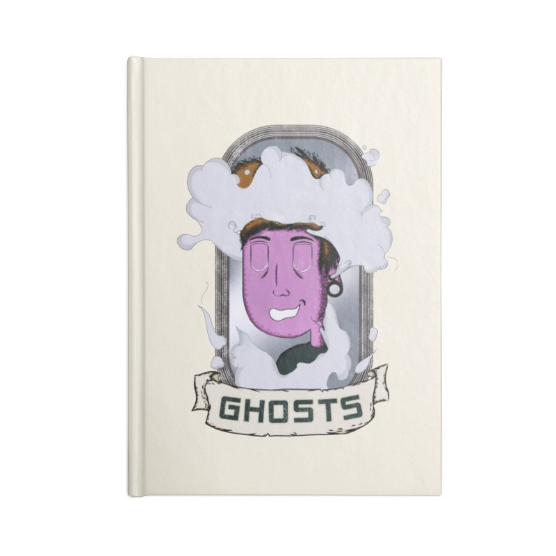 ghosts. Accessories Lined Journal Notebook by myagender