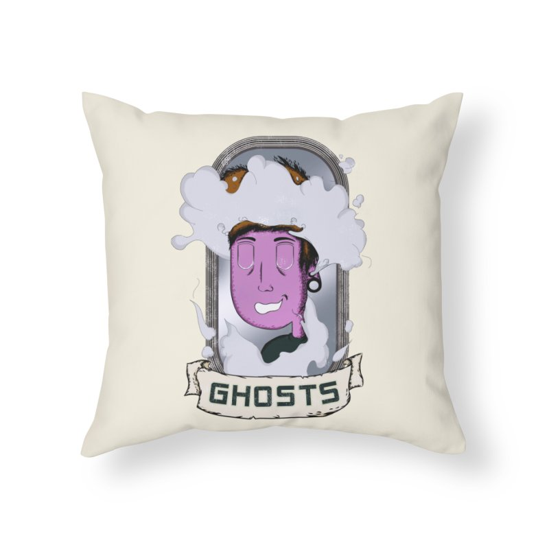 ghosts. Home Throw Pillow by myagender