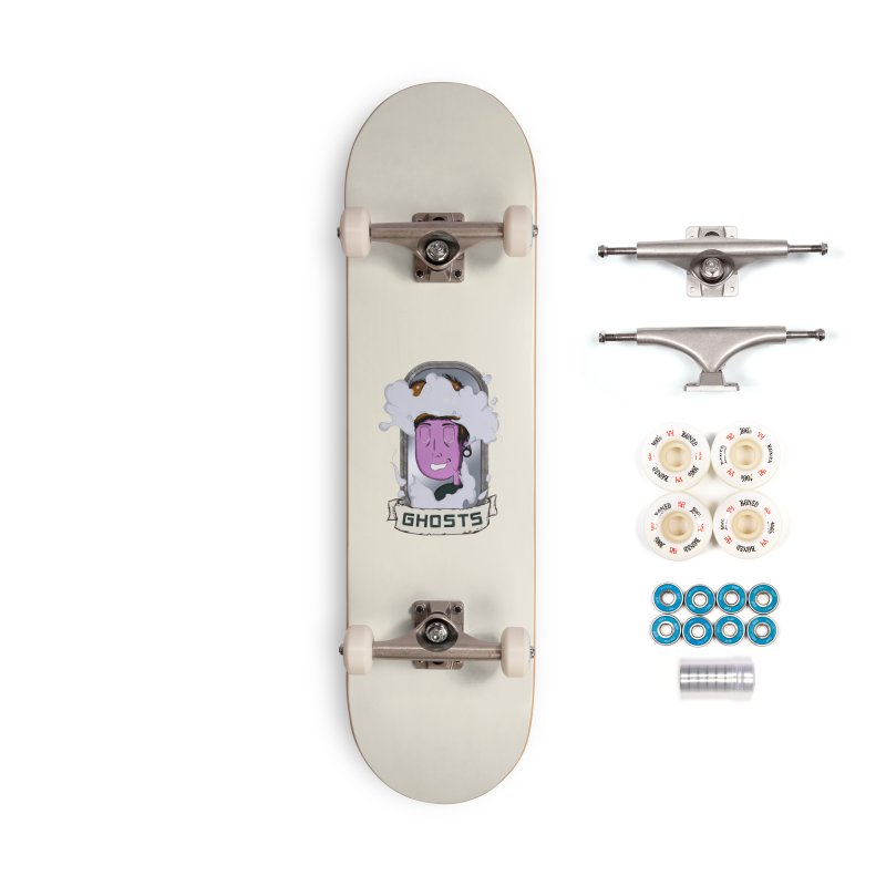 ghosts. Accessories Complete - Premium Skateboard by myagender