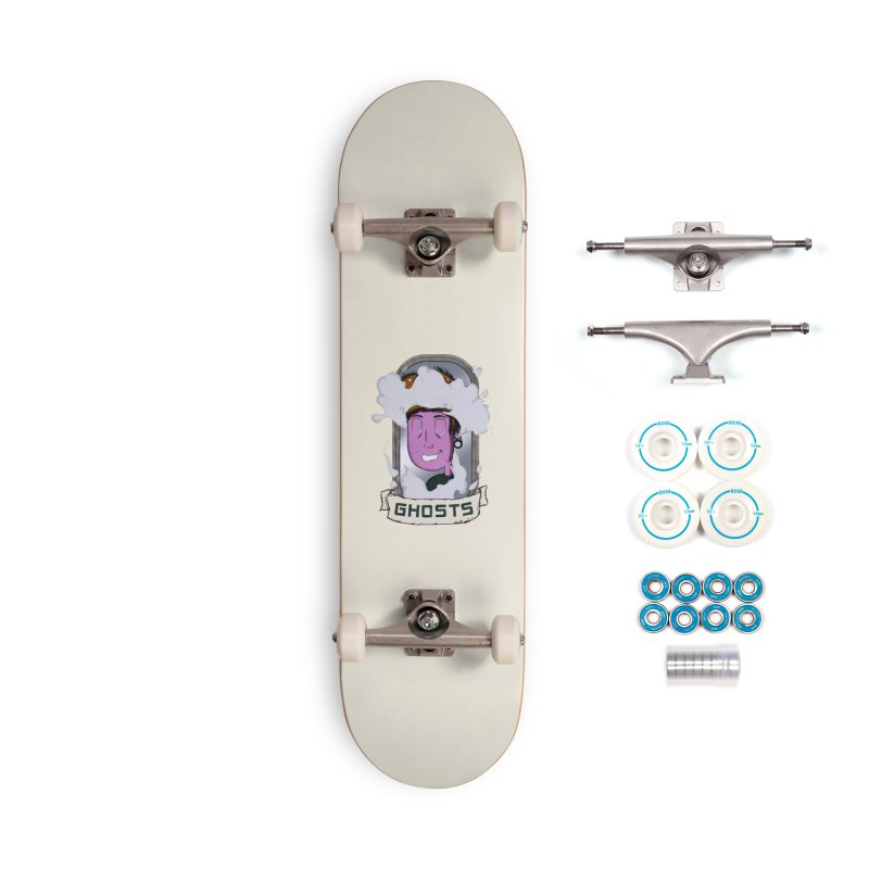 ghosts. Accessories Complete - Basic Skateboard by myagender