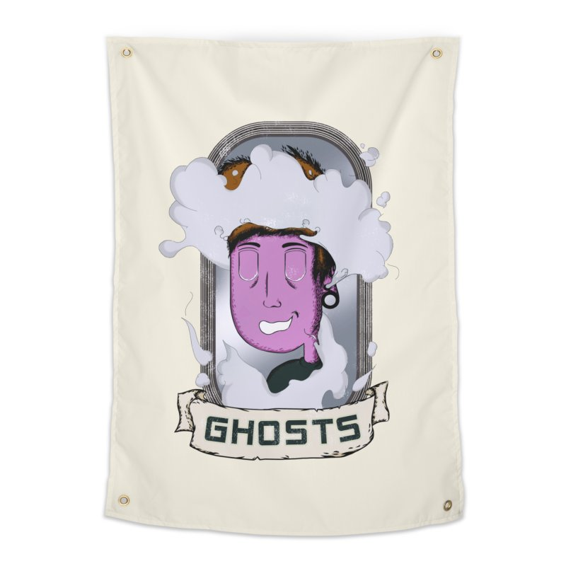 ghosts. Home Tapestry by myagender