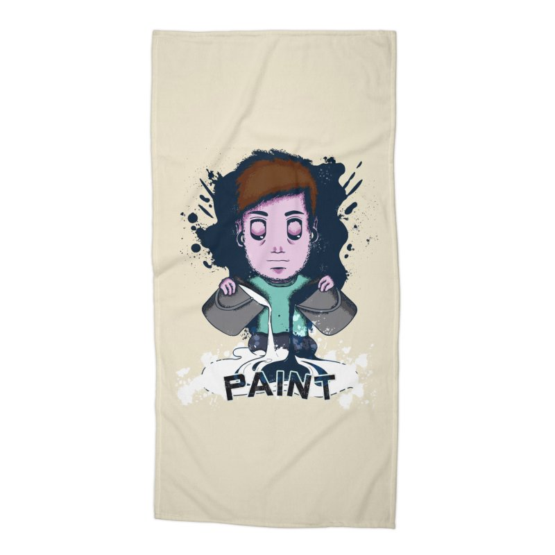 paint. Accessories Beach Towel by myagender