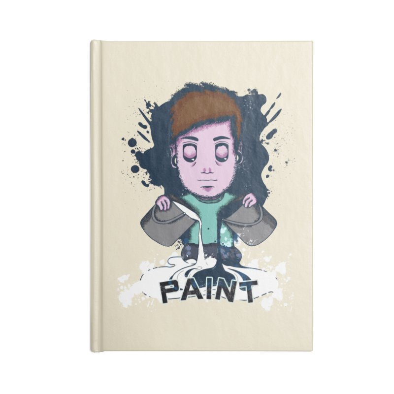 paint. Accessories Lined Journal Notebook by myagender