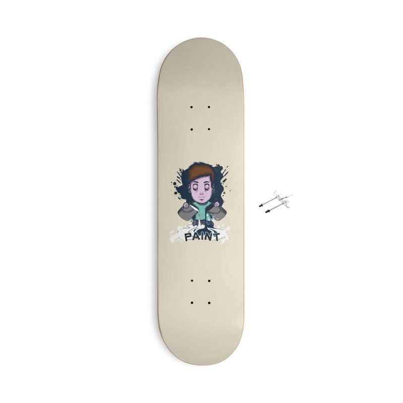 paint. Accessories With Hanging Hardware Skateboard by myagender
