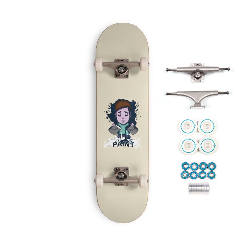 paint. Accessories Complete - Basic Skateboard by myagender