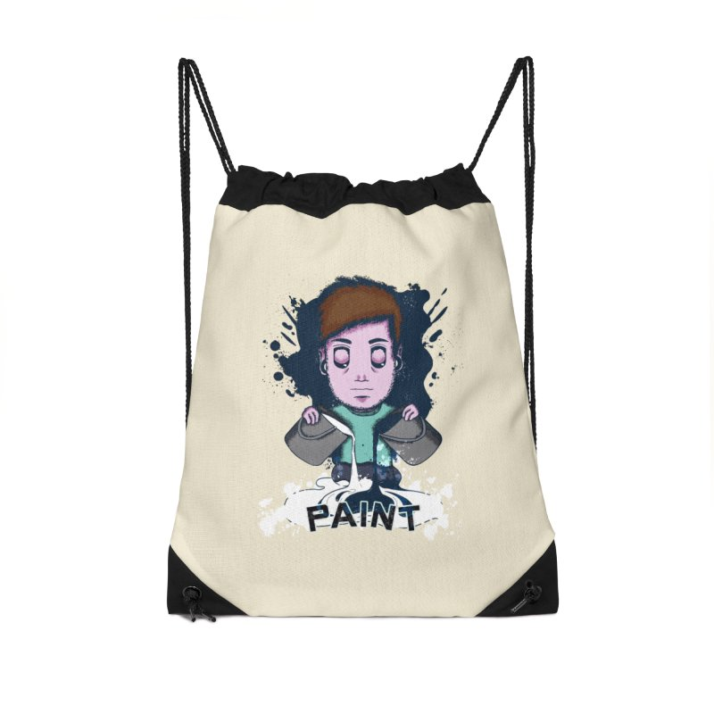 paint. Accessories Drawstring Bag Bag by myagender