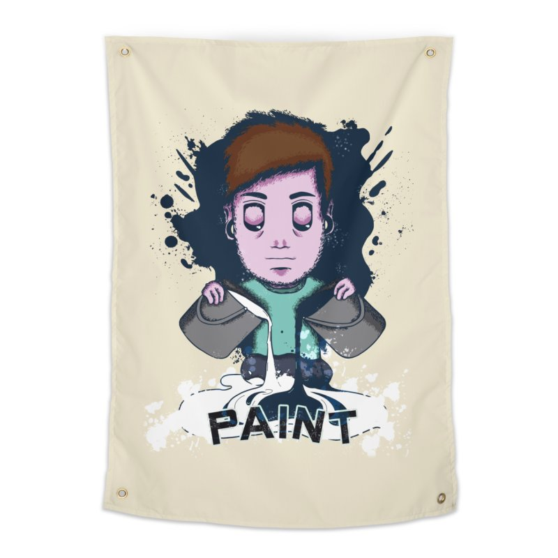 paint. Home Tapestry by myagender