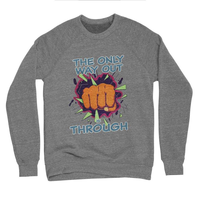 out. Women's Sponge Fleece Sweatshirt by myagender