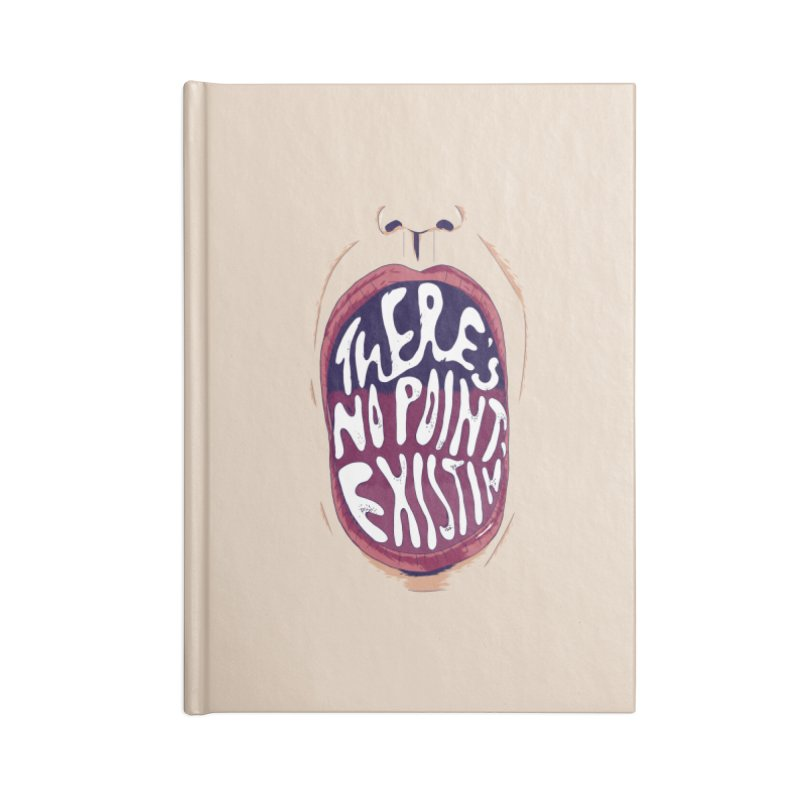 existing. Accessories Blank Journal Notebook by myagender