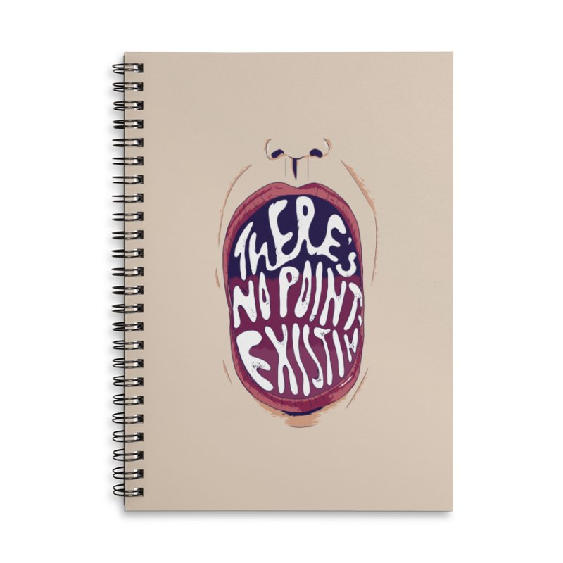 existing. Accessories Lined Spiral Notebook by myagender
