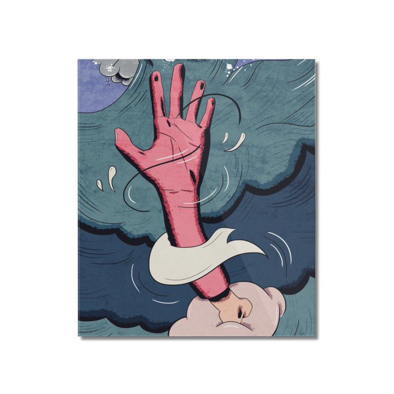 drown. Home Mounted Acrylic Print by myagender