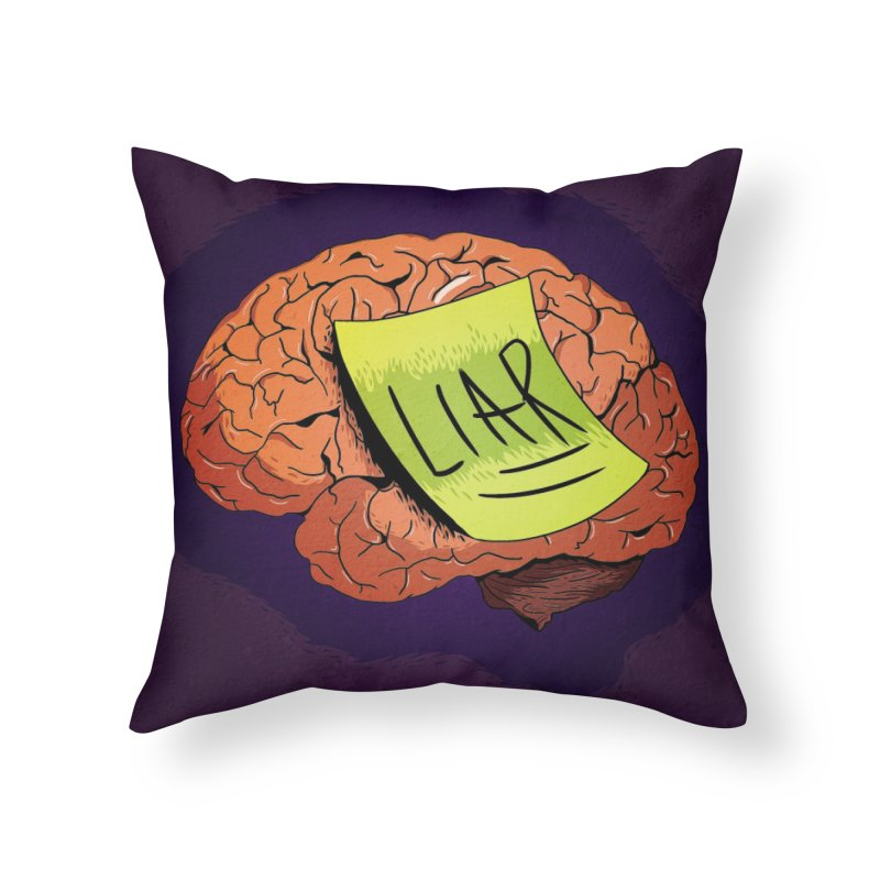 reminder. Home Throw Pillow by myagender