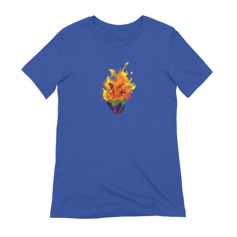 pride. Women's Extra Soft T-Shirt by myagender