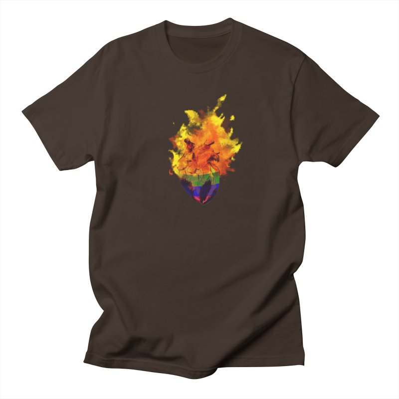 pride. Men's Regular T-Shirt by myagender