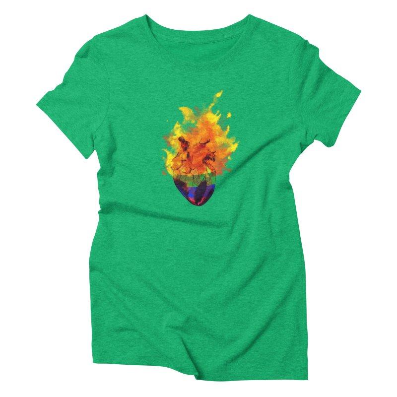 pride. Women's Triblend T-Shirt by myagender