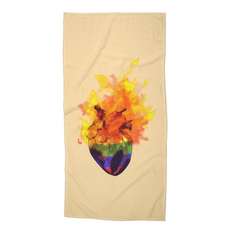 pride. Accessories Beach Towel by myagender