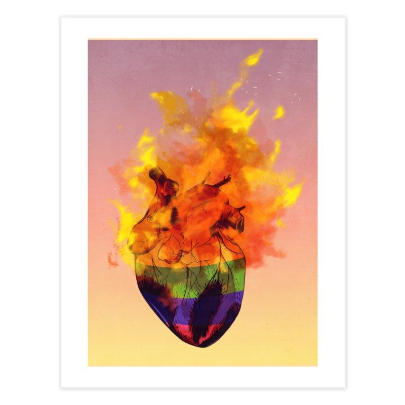 pride. Home Fine Art Print by myagender