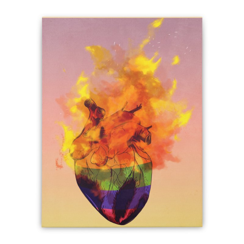 pride. Home Stretched Canvas by myagender