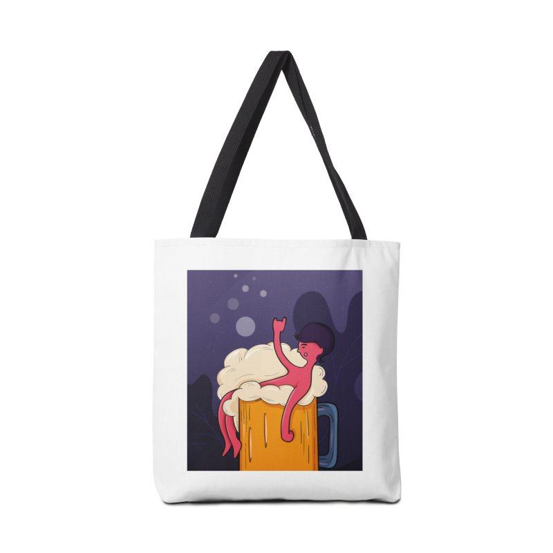 beer bath. Accessories Tote Bag Bag by myagender