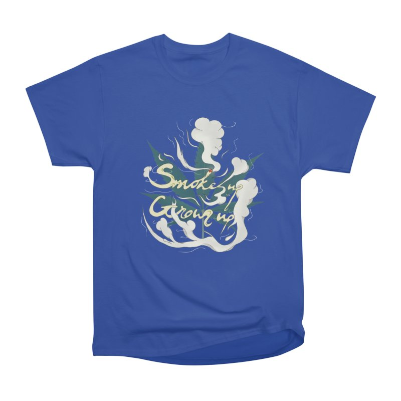 smoke up, grow up. Men's Heavyweight T-Shirt by myagender