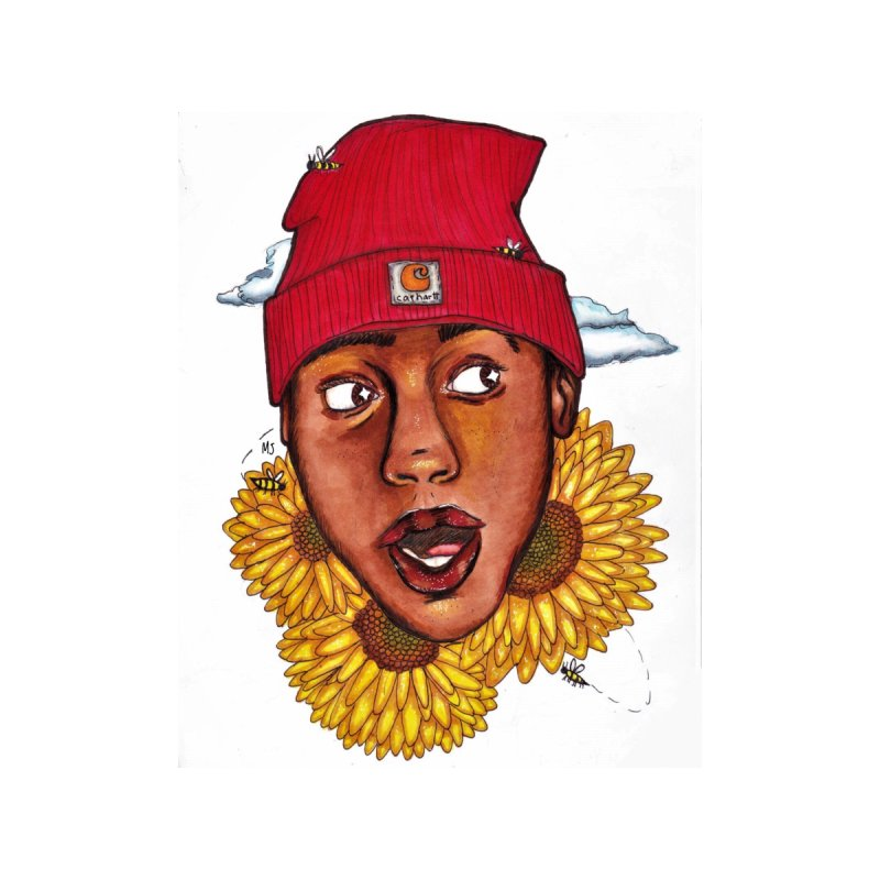 0e30f548ffb8 Tyler the Creator x MJ Home Tapestry by mj s art