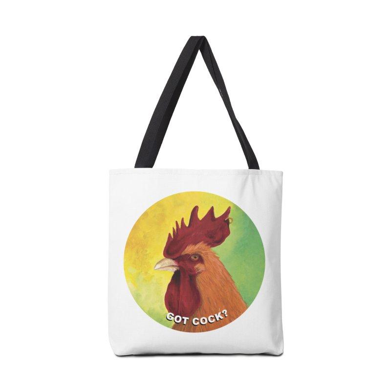 Got Cock? Accessories Tote Bag Bag by mybadart's Artist Shop